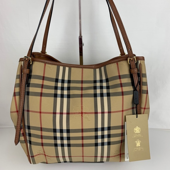 5df9fd585311 Burberry Horseferry Small Canter Tote 4028897